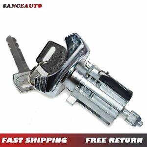 For Ford F150 250 350 92-95 Ignition Key Switch Lock Cylinder W/ 2 Keys C42150