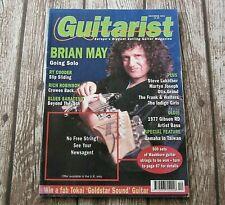 Brian May - Queen : Guitarist December 1992 Issue UK Guitar Magazine