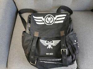 Rare Vintage Warhammer 40k Munitorum Combat Issue Field Kit Bag