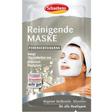 SCHAEBENS Reinigende DETOX Gesichtsmaske Porenverfeinernd 2x5ml Gesichtspflege