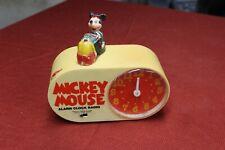 Vintage Collectible Mickey Mouse Alarm Clock Radio Minnie Antique Disney old