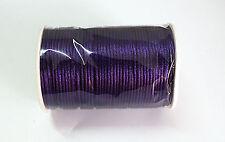 New 5yd/10yd/100yd 2mm Satin Rattail Cord nylon jewelry macrame kumihimo beads A