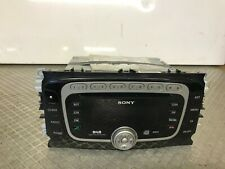FORD FOCUS SONY DAB RADIO STERO CD PLAYER HEAD UNIT WITH CODE 8M5T18C939LE