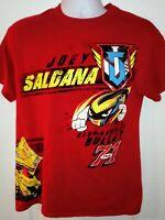 Joey Saldana T-shirt. Medium. World Of Outlaws Sprint Car
