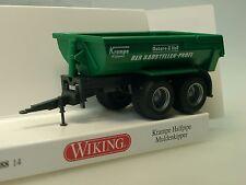 Wiking cepo halfpipe camiones de volteo, verde - 0388 14 - 1/87