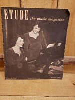 Etude: The Music Magazine, January 1949 Featuring Salvation Army Band