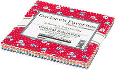 "Darlene's Favorites by Darlene Zimmerman 42 Piece Charm Pack 5"" Squares"