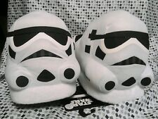 NEW Star Wars Stormtrooper Helmet Slippers Adult Size L Costume Shoes MSRP $40