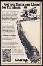 1970 Lionel electric toy train Grand Trunk & Western set pic vintage print ad