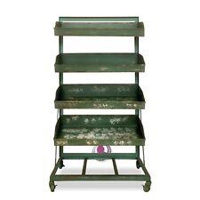 Regal grün Eisenregal Küchenschrank Industrial-Style