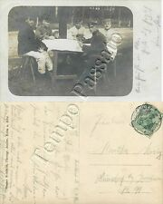 Prima guerra mondiale - Soldati tedeschi che giocano a carte
