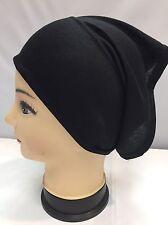 New Black Under Hijab Tube Bonnet Cap