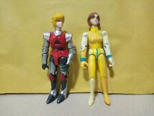 Robotech Matchbox action figures - Dana Sterling + Lisa Hayes