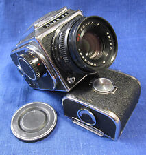 Kiev 88 Medium Format FILM CAMERA w/ 2 x 120 Film Backs WORKING
