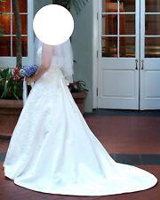 Maggio Sottero Wedding Dress & Veil - Size 10 (36/27/40)