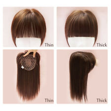 New arrived synthetic hair Topper Closures Top Replacement With Clips for women