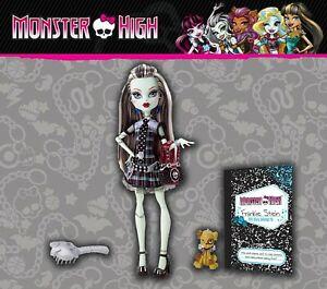 "Monster High First Wave Signature Frankie Stein 2010 Complete Mattel 12"" doll"