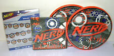 Nerf 16 Dinner Plates & Paper Napkins Garland Birthday Boy GuY Work Office Party