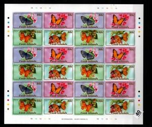 / COOK ISLANDS - MNH - IMPERF - BUTTERFLY