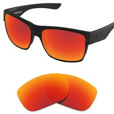 Tintart Replacement Lenses for-Oakley TwoFace Sunglasses Fire Red (STD)