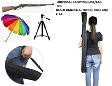 "UNIVERSAL carrying  bag case for Umbrella, Tripod, Riffle 46.5""X6""  HEAVY DUTY"