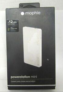Mophie PowerStation Mini - Universal - 3000mAh Portable External Battery - White