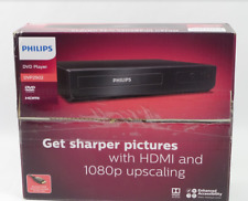 Philips 1080p Upscaling DVD Player DVP2902/F7 Black - NEW