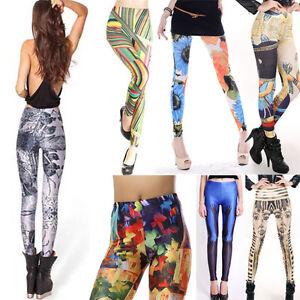 2019 Costume Leggings For Women Galaxy Digital Printing Elasticity Tight Pants
