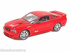 WELLY  2007 SALEEN S281 E MUSTANG RED 1/18 DIECAST CAR 12569
