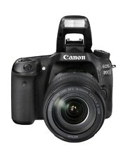 Canon EOS 80D 24.2 MP Digital SLR Camera - Black (Body, Lense, and case)