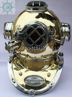 ANTIQUE MORSE US NAVY ALUMINUM & BRASS MARK V DIVERS DIVING HELMET VINTAGE