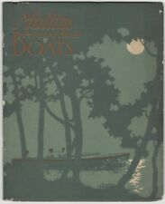 1914 Mullins Pressed Steel Boats Catalog with Color Illustrations