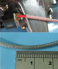 Miniature Braided Hose Sleeving 0.8mm Diameter Tamiya Pocher 1m