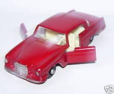 old & rare LESNEY MERCEDES BENZ 220 SE ROUGE N°53 1968