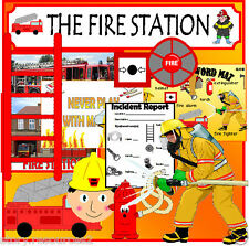 FIRE FIGHTER FIRE STATION ROLEPLAY Teaching Resources PEOPLE WHO HELP US EYFS cd