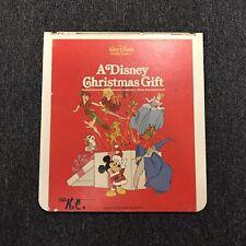 A Disney Christmas Gift CED Videodisc Bambi Cinderella Peter Pan