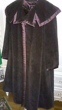 Norman Ambrose  Draped Camel Cashmere Coat size 18W to 24W NEW