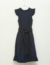ATELIER DELPHINE - pretty dark blue dress - XS