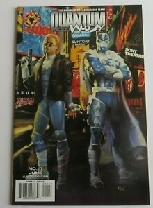 Quantum and Woody #1 VF/NM Painted Cover Variant 1st Print Valiant/Acclaim Comic