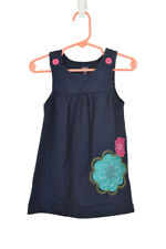 Carter's Girls Dresses Sheaths and Shifts 18-24 MO Blue Cotton