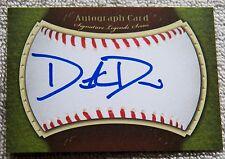 Oakland Athletics A's Dustin Driver Signed Autograph Auto Card