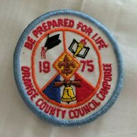 """Boy Scouts - 1975 Orange County Council Camporee """"Be Prepared for Life"""""""