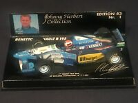 1/43 BENETTON RENAULT B195 JOHNNY HERBERT 1st WIN SILVERSTONE 16 JULY 1995