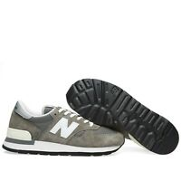 New Balance 990 OG Made in USA Grey White Men Suede Mesh Vibram Shoes M990GRY