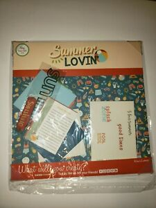 May 2021 Kiwi Lane Kit Paper and Cards only No Templates Summer Lovin'