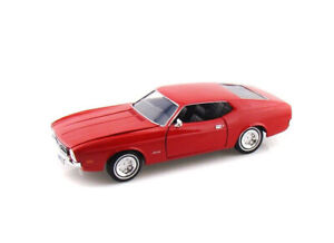 Ford Mustang Mach 1 (1971) in Red (1:24 scale by Motor Max 73327R)