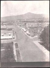 PHOTOGRAPH 1915-1917 STREET VIEW CHURCH B & C CASH STORE MEDFORD OREGON PHOTO