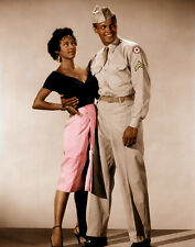 Dorothy Dandridge and Harry Belafonte UNSIGNED photo - D208 - Carmen Jones
