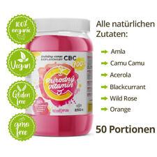🌱100% Natürliches Pulver Vitamin C 1000mg Hochdosiert mit Bioflavonoiden NonGmo