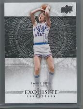 2013-14 Exquisite Collection Basketball Larry Bird Base Card # 42 Serial # 13/75